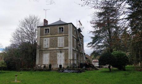 Rénovation complète d'une maison de maître